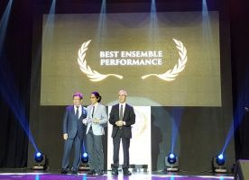 Best Ansemble Performance World Premieres Film Festival 2015 Jatuh Pada Film