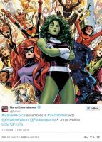 A-Force, The Avengers Versi Wanita